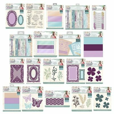 Crafters Companion - Vintage Lace - SARA SIGNATURE COLLECTION - Cardmaking