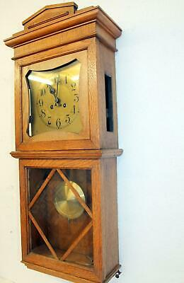 Antique Wall Clock Chime Clock Regulator 1920th century B&P