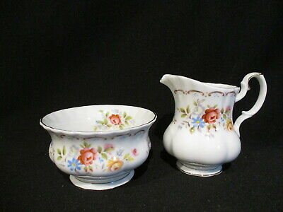 Royal Albert - JUBILEE ROSE - AD Creamer & Sugar