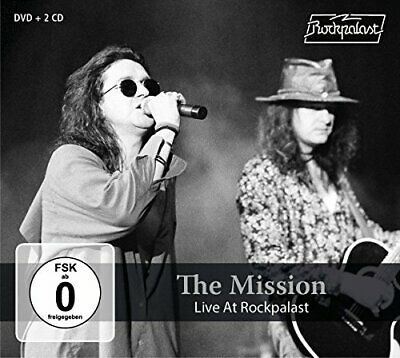 Mission - Live At Rockpalast - CD/DVD - New