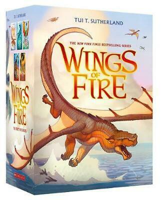 Wings of Fire 1-5 Boxed Set by Tui,T Sutherland (English) Paperback Book Free Sh