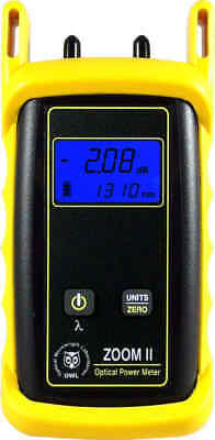 OWL ZO2V ZOOM 2 Optical Power Meter with Integrated VFL