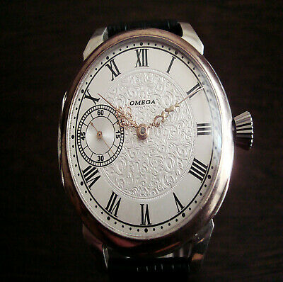Omega Deco dial luxury men's watch Antique Swiss movement 1911