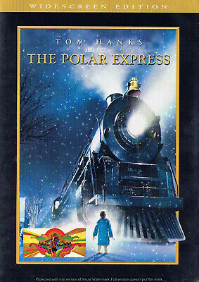 Christmas - The Polar Express (DVD, 2005) (Bilingual) Widescreen Tom Hanks NEW