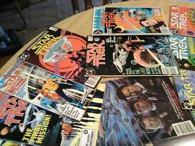 ( 28)Star Trek Comic Books1980'S, All Are InGood Condition For Their Age