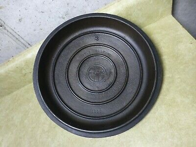 Vintage Griswold 1288 #8 Cast Iron Lid for Dutch Oven