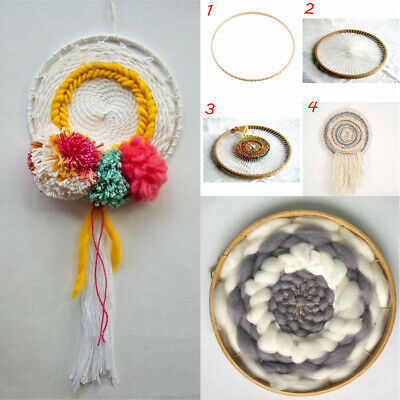 Handmade Craft DIY Sewing Round Knitting Loom Hanging Decoration Woven Tools