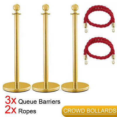 Segregate Usher Queue Barriers Guard Stainless Steel Decoration Hotel Stands