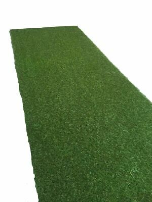 Artificial Grass Mat Fake Turf Lawn Garden Roll Greengrocers 30mm Thick 1m x 4m