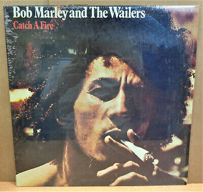 Bob Marley And The Wailers Catch A Fire Jamaican Tuff Gong Lp 422-846 201-1