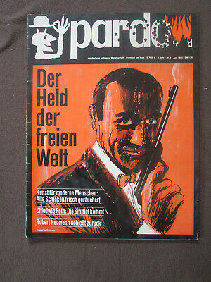pardon 6 1965 Satire Magazin James Bond Lupo Comic Rolf Kauka Asterix und Obelix