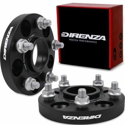 DIRENZA 5x114.3 20mm HUBCENTRIC WHEEL SPACER PAIR FOR LAND ROVER FREELANDER 98+