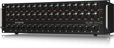 New Midas DL32 32-Channel Digital Stage Box 32-in/16-out DL 32 Stagebox