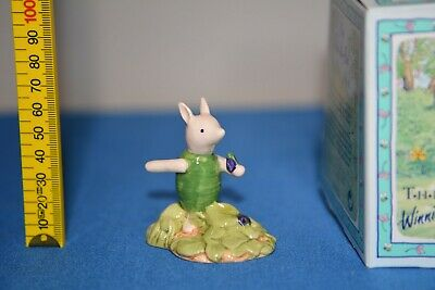Royal Doulton - Winnie The Pooh collection - PIGLET & VIOLET WP13 . BOX