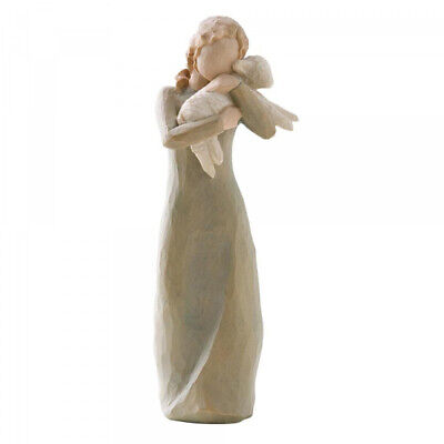 Demdaco Willow Tree Peace on Earth Hand-Painted Resin Figurine - Boxed