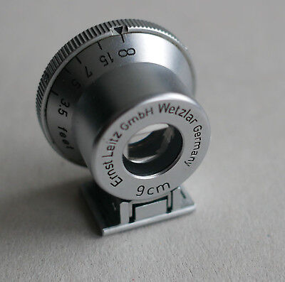 Leica  Leitz 9cm viewfinder, near MINT.