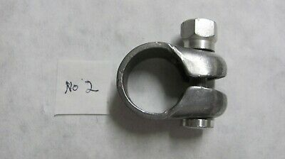 Schwinn Krate seat post clamp w/ S bolt and nut original nickle plate #2