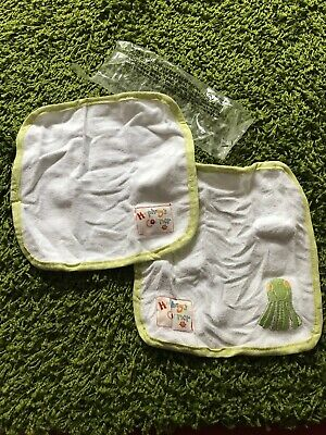 NEW Mothercare Humphreys Wash Clothes Flannels BNWP Face Wipes New Baby Towel