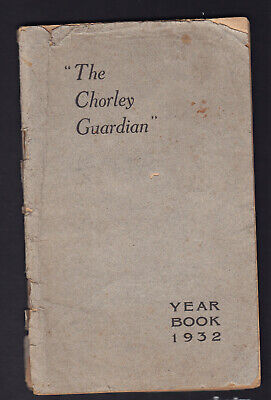 CHORLEY Lancashire The Chorley Guardian Year Book 1932 RARE