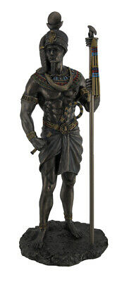 Khonsu Ancient Egyptian God of the Moon Bronze Finished Statue