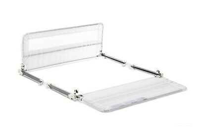 Regalo Hide Away Double Sided Bed Rail, White *Distressed Pkg*