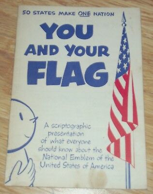 1965 Booklet You and Your Flag F & M Schaefer Brewing Co. New York and Maryland
