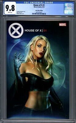 House of X #1  Shannon Maer Variant Comic Mint Emma Frost  1st Print CGC 9.8
