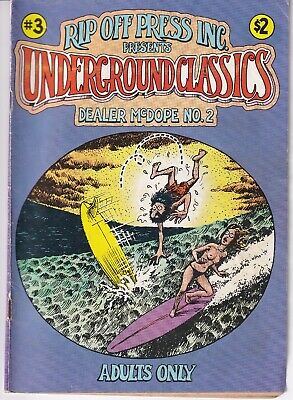 Underground Comic: Rip Off Press Underground Classics #3 Dealer McDope #2 1985