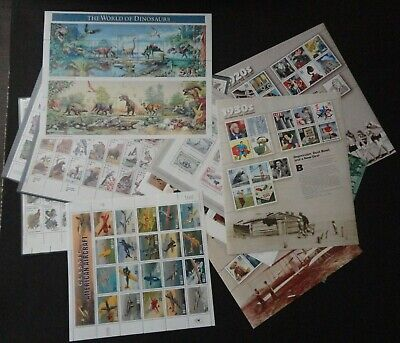Usa  Usps Popular  Stamp Sheets &  Mini  Sheets Mint Nh Lot Face Value $164.81