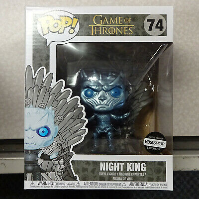 Funko Pop! Game of Thrones Night King On Throne (Metallic) 74 HBO Shop EXCLUSIVE