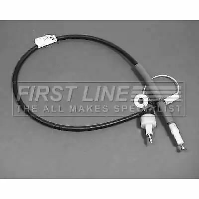 Clutch Cable FKC1077 by First Line Genuine OE - Single
