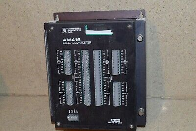 Campbell Scientific Inc Am416 Relay Multiplexer Lot Of Two (Cs1)