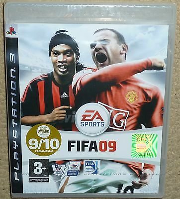 FIFA 09 GAME for SONY PLAYSTATION 3 PS3 BRAND NEW & FACTORY SEALED Football 2009