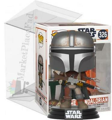 Funko POP! Star Wars #326 The Mandalorian Vinyl Figure W/Protector Included