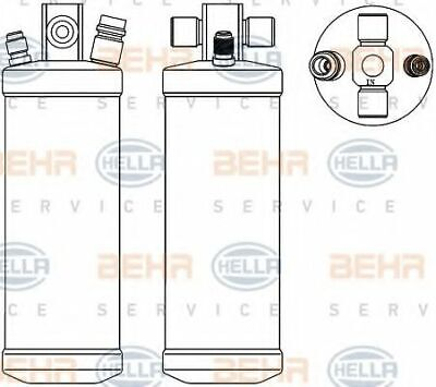 Hella AIR CONDITIONING RECEIVER - DRIER 8FT 8FT351192-791 OE 1282786 1356360