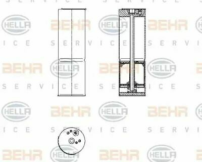 Air Conditioning dehumidifier 8FT351196-581 by Hella Roof Fitting - Single