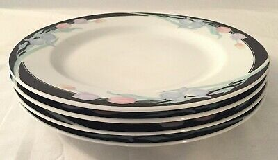 Lot of 4 Excel Caravel Dinner Plates