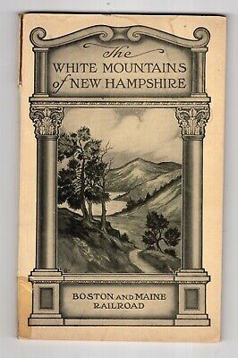 Early 1900's Boston & Maine Railroad, White Mountains of New Hampshire