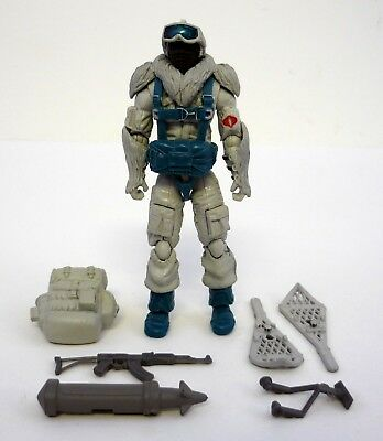 v8 2008 GI Joe Snow Serpent 25th anniversaire figurine presque complet C9