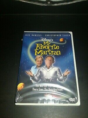 My Favorite Martian (DVD, 2002) Brand New Factory Sealed Fast Shipping!