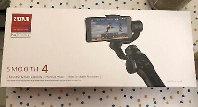 Zhiyun Smooth 4 3-Axis Handheld Gimbal Stabilizer - Black (Used Once)
