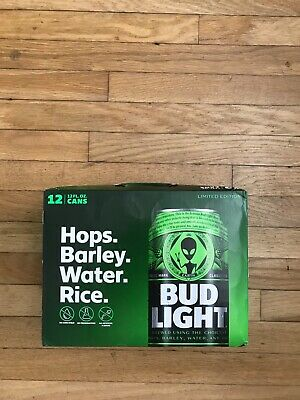 Bud Light Alien Storm AREA 51 12 pack