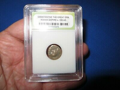 Bronze Ancient Roman Empire Coin ~ 1,500 Years Old