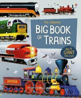 NEW Big Book of Trains By Megan Cullis Hardcover Free Shipping