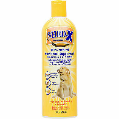 Shed-X Dermaplex Shed Control Nutritional Liquid Supplement for Dogs 16 oz