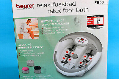 beurer therapy Relax Fußbad FB50 in OVP neuwertig