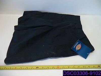 NWT Dirty From Handling Dickies Boys Size 14 Navy Blue Flat Front Short