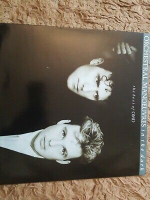 """ORCHESTRAL MANOEUVRES IN THE DARK The Best Of OMD 12"""" LP Vinyl [NM - NM] 1988"""