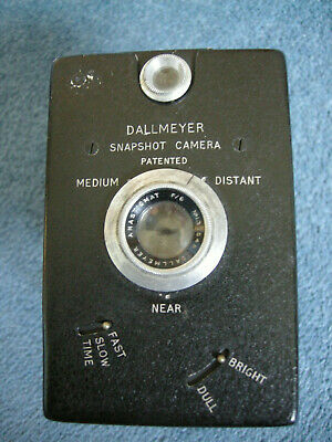 Dallmayer Snapshot Camera