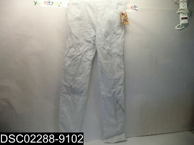 STAINED: NEW WITH TAGS: Hybrid & Company Womens Size Large White Comfy Pants